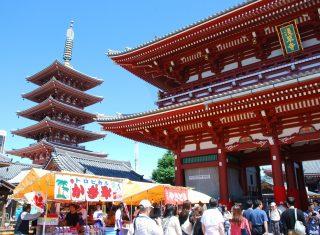 Sensoji temple, Tokyo, Japan © Y.Shimizu JNTO