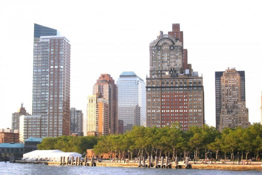 New York city for groups skyline, America