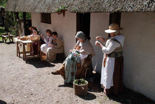 17th Century Village, Gosport, Hampshire - 1642 Living History Village 5 © 17thC