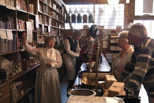 1910s The Co-op grocery shop at Beamish