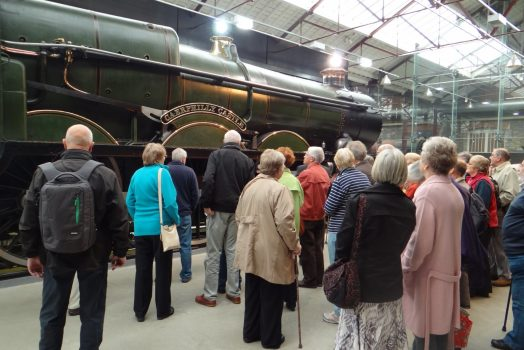 Steam Museum, Swindon, Wiltshire - Caerphilly Castle Train
