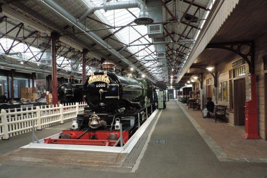 Steam Museum, Swindon, Wiltshire - The Bristolian Train