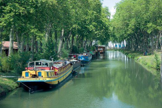 Toulouse, France - Canal du Midi