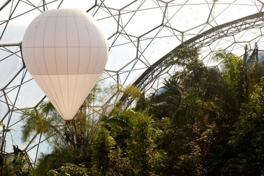 Eden Project, Cornwall - Rainforest Balloon © Supplied by the Eden Project