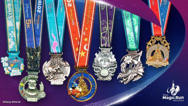 Disneyland® Paris Run Weekend 2018 Medals