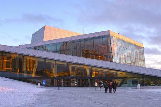 Oslo, Norway - Winter sun at the Opera © VISITOSLOTord Baklund