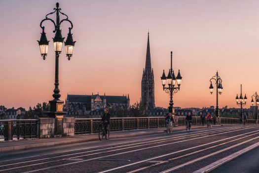 Bordeaux, France - Bridge