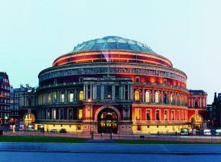 Royal Albert Hall at Night ©Marcus Ginns