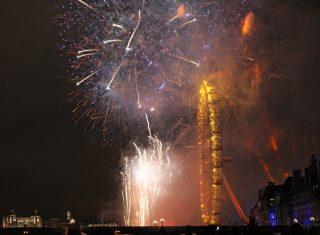 Fireworks on New Year's Eve - City Cruises, London ©citycruises.com