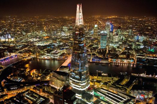 The View from The Shard Night ©The View from The Shard