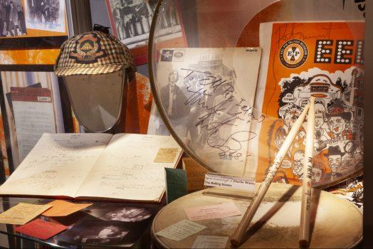 Eel Pie Island Museum, Twickenham, London - Interior Drumsticks