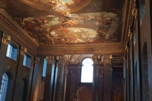 Painted Hall Interior
