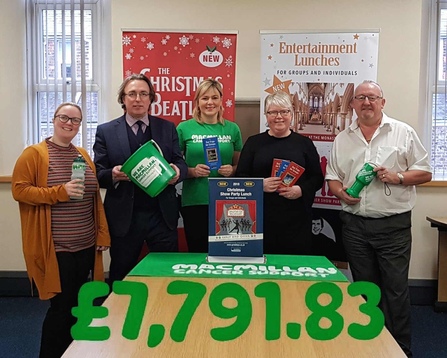 Macmillan Cancer Support 2018