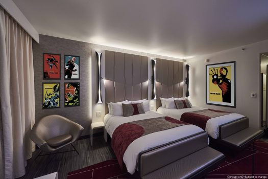 Disneys Hotel New York - The Art of Marvel