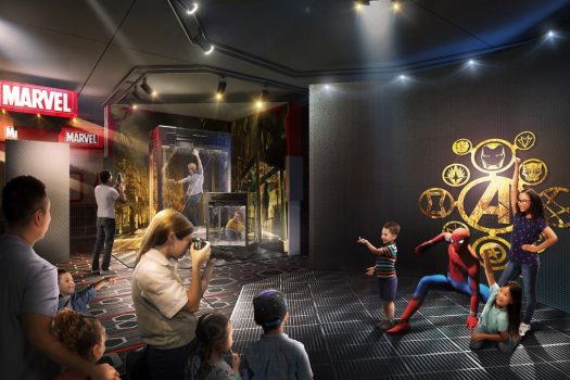 Disney's Hotel New York The Art Of Marvel - Artist concept