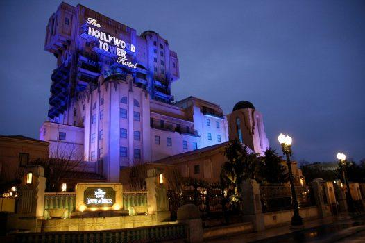 summer at Disneyland Paris - Tower of Terror