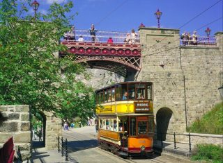 Crich Tramway village, Derbyshire - Bridge (NCN)