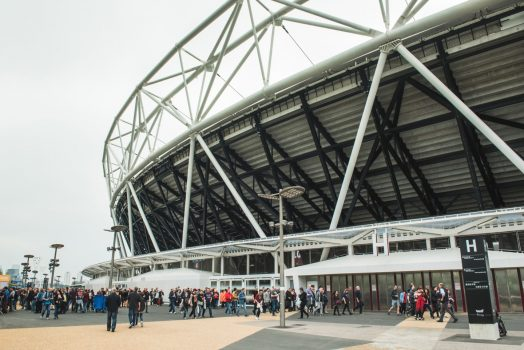 London Stadium Tour, Olympic Park - ACDC Olympic © Marc Sethi