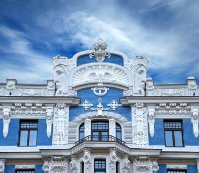 Latvia - Riga - Art Nouveau