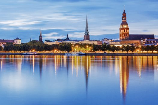 Latvia - Riga - Panorama © Courtesy of Baltic Travel Group