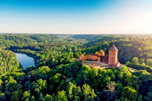 Latvia - Turaida Castle © Courtesy of Baltic Travel Group
