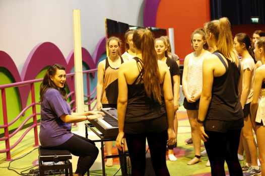 Choir group Disney Performing Arts Workshop