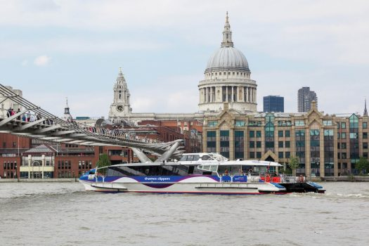 Thames Clippers, London - Typhoon at St Paul's Cathedral © Thames Clippers