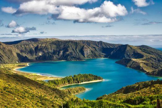 Azores, Portugal - Lagoa de fogo