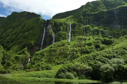 Azores, Portugal - Waterfall