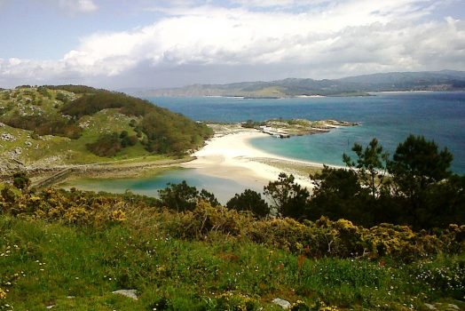 Cies Islands, Galicia, Spain - Scenic, Coastline (NCN)