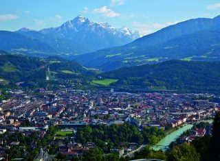 Innsbruck, Austria - View of the City and Series Mountain (32749) © Innsbruck Tourismus, Photographer Christof Lackner