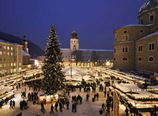Salzburg, Austria - Christmas Market © Oesterreich Werbung, Photographer Bryan Reinhart