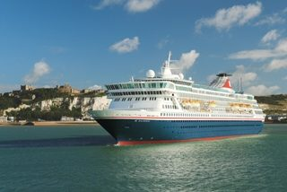 Balmoral, FOCL - Leaving Dover © Fred Olsen Cruise Lines