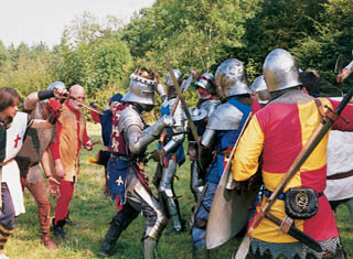 Bosworth-Battlefield-Leicestershire-Re-enactment_Armour-NCN