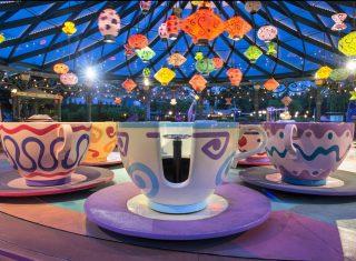 Madhatter's Tea Cups Fantasyland