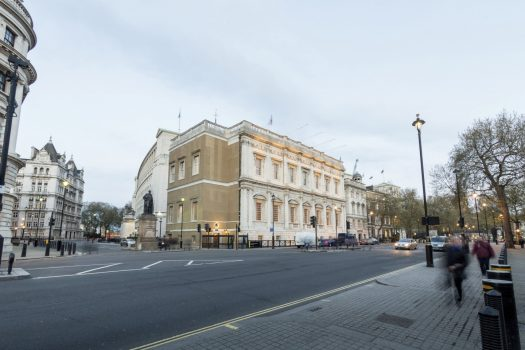 Banqueting House, Whitehall, London - Exterior view from the north west (6317) © Historic Royal Palaces, Richard Lea-Hair