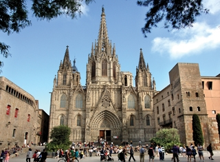 Barcelona, Spain - Cathedral. Gothic Quarter © Turisme de Barcelona