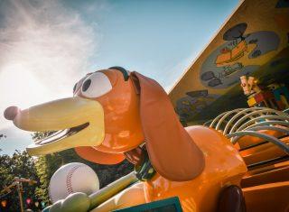 Slinky® Dog Zigzag Spin at Walt Disney Studios® Park