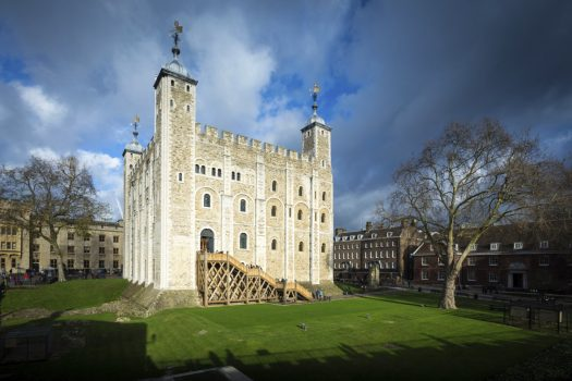 Tower of London, London - View of the White Tower from the south west (5731) © Historic Royal Palaces, Richard Lea-Hair