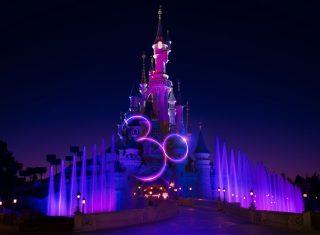 Sleeping Beauty Castle at Disneyland® Paris 30th Anniversary