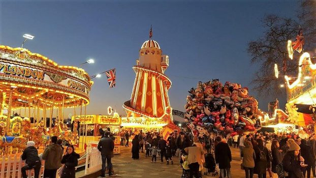 Christmas In London 2019 Group tours to Winter Wonderland Christmas Markets in London