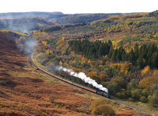 Yorkshire TV series North Yorkshire Moors Railway © John Hunt