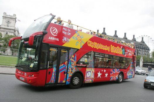 Original London Bus tour to various Landmarks incl: Westminster, Big Ben, London Eye and Tower Bridge. ©Andrew Dunsmore