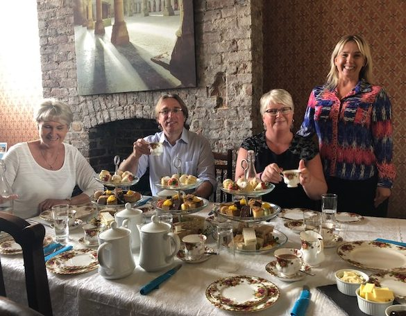 Afternoon Tea at Gorton Monastrey