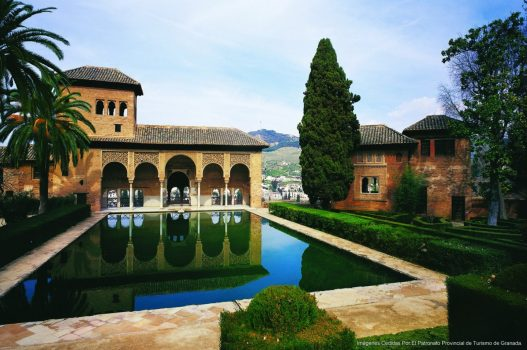 Alhambra. El Partal, Spain