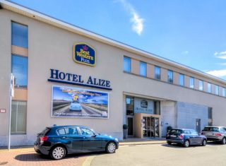 Exterior of Best Western Plus Alize
