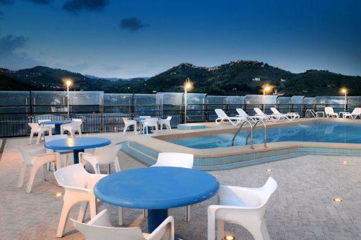 Terrace and Pool, Grand Ambasciatori Hotel