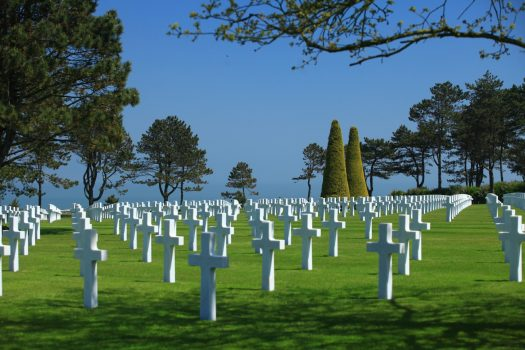 d-day American Cemetery, Colleville-sur-Mer, Normandy (C) Atout France Franck Charel