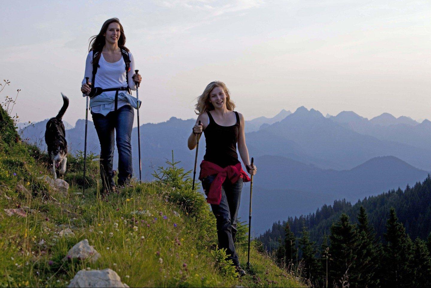 Germany, Bavaria, Ammergau Alps, Walking, Hiking, Rambling, Group Travel, © Ammergauer Alpen GmbH, Oberammergau Tourismus. Photo Florian Wagner
