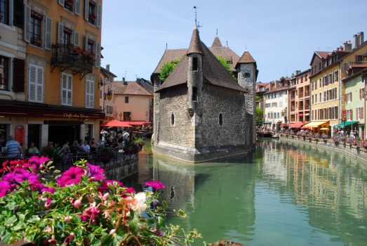 Annecy, France - Town and river_1 © C. MaxOT Lac D'Annecy